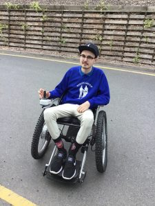 Darren, a happy customer of Beyond the Boundary Wheelchairs