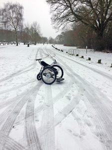 Trekinetic in the snow